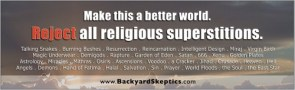 reject all religious superstitions