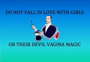 do not fall in love with girls
