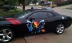 my little pony rainbow dash car