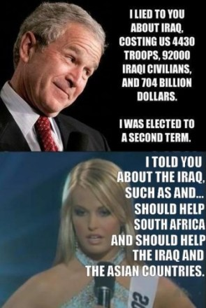 I told you about the iraq