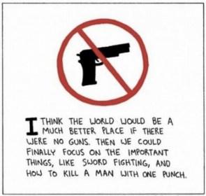 a world with no guns