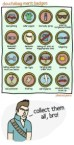 douchebag merit badges