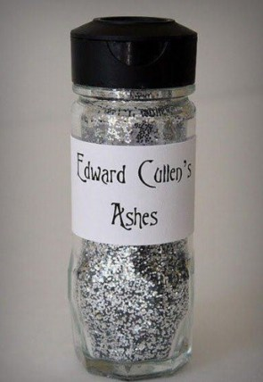 edward cullens ashes