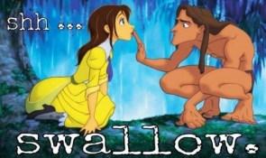 shh – swallow