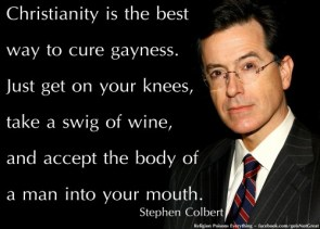 Christianity is the best way to cure gayness