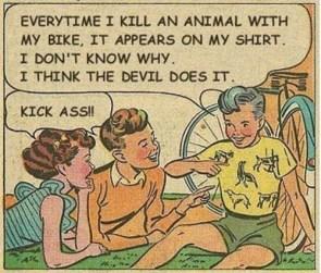 Everytime I kill an Animal