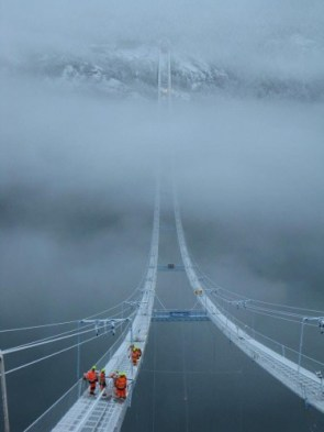 Just a bridge in Norway