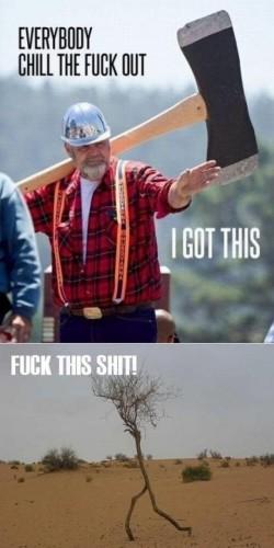 awesome lumberjack
