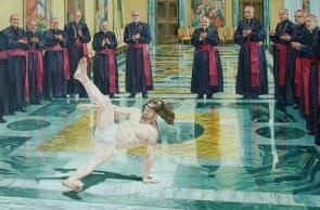break dancin Jesus