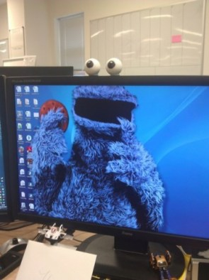 cookie monster monitor