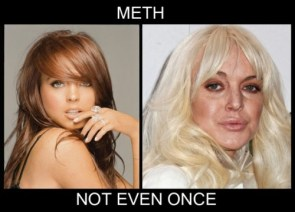meth – not even once