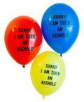 sorry balloons