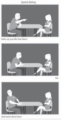 speed dating – star wars