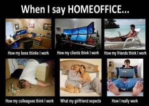 when I say homeoffice