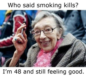 who said smoking kills