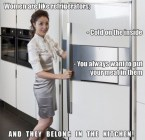 women are like refrigerators