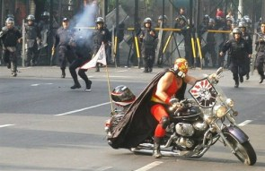 Mexican Rioter