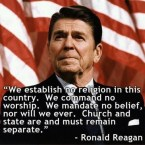 Ronald Reagan on Religion