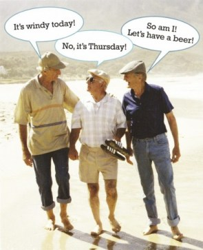 seniors love beer