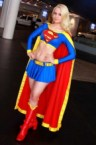 Supergirl Cosplayer