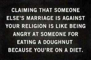 angry at doughnuts