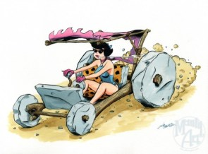 badass betty rubble