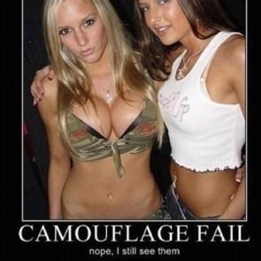 camouflage fail