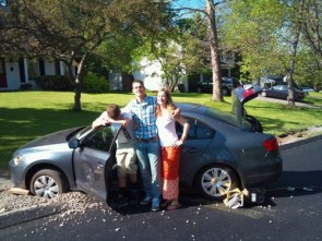 family car accident photo