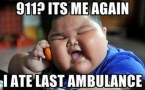 i ate the last ambulance