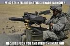 m-47 striker automatic greande launcher