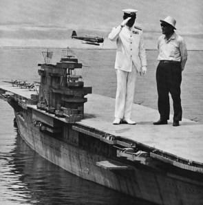 mini aircraft carrier