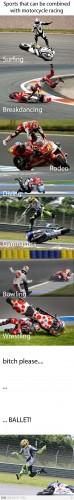 motorcycle racing sports mashup