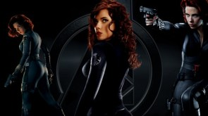 scarlet johanson is the black widow