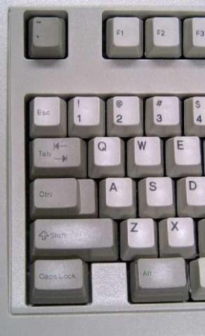 where is my esc or windows key