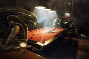 alien vs predator – pool game