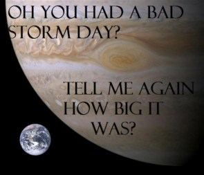 bad storm day?