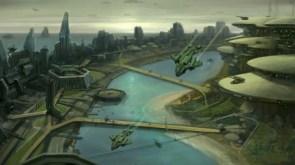 halo wars city
