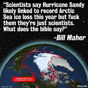 what does the bible say about Hurricane Sandy
