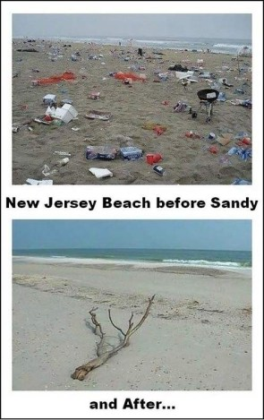jersey shore before and after hurricane sandy