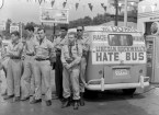 licoln rockwells hate bus