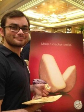 make a cracker smile