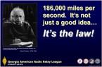 186000 miles per second