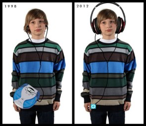1998 vs 2012 headphones