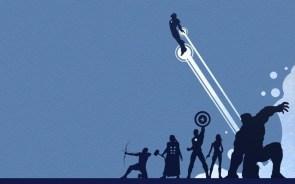 avengers in blue