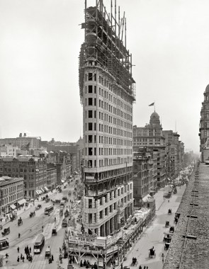 creating the flat iron