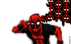 deadpool – logo brains