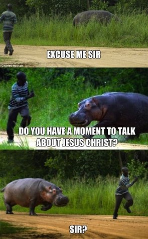 do you have a moment to talk about jesus christ