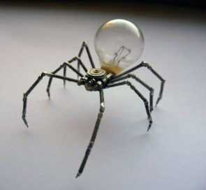 electric spider bulb