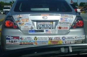 expressive bumper stickers
