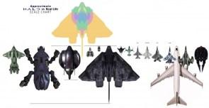 halo ship size chart